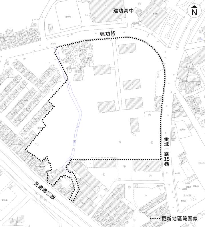 新竹市建功高中南側地區都市更新案